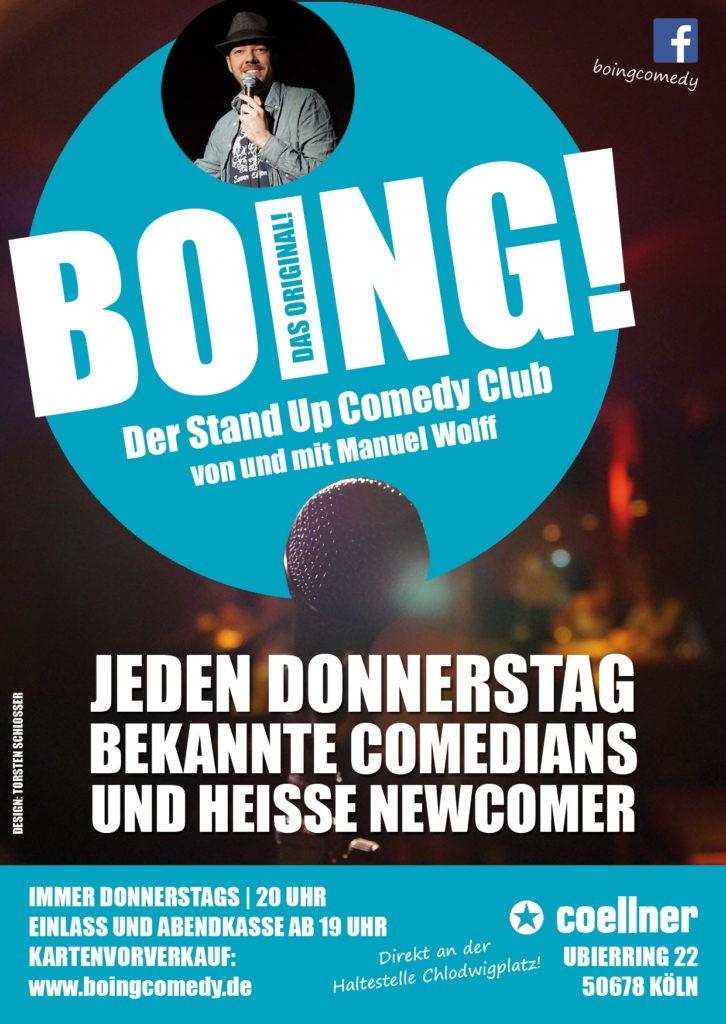 boing flyer - BOING! Comedy Club